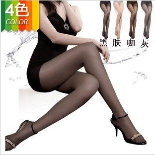 free shipping 6 pcs/lot Women Sexy Silk stocking Pantyhose thin tights summer Leggings Women Stockings 4 Colors wholesale