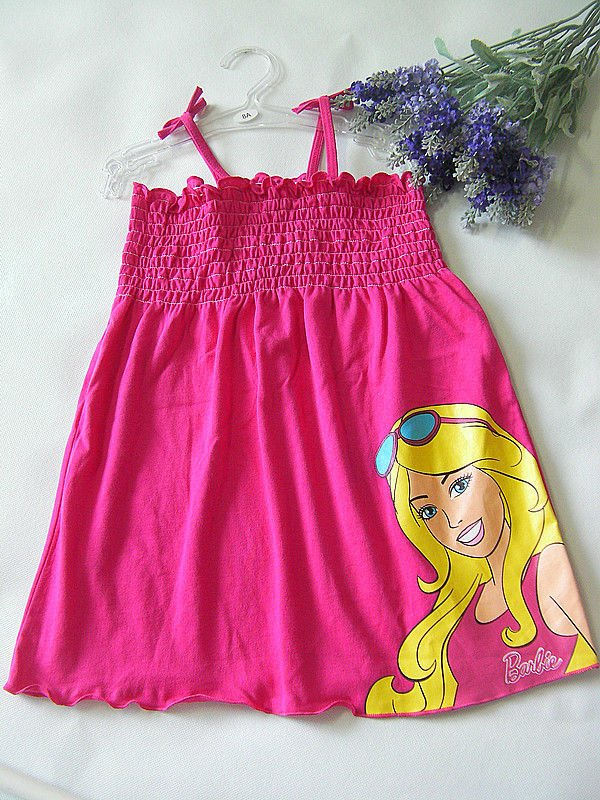 Free Shipping,6pcs/lot,Red Color,Kids' girl clothes nightgowns baby cloththing kids wear kids clothes costume GS145