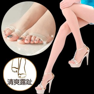 Free shipping 6pcs/lot Ultra-thin open toe open toe silk socks pantyhose oftoe step on the foot sandals socks