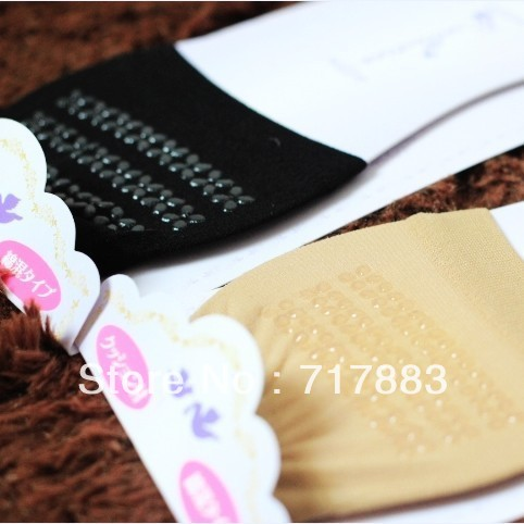 FREE SHIPPING A160 socks pad invisible sock slippers high forefoot pad glue slip-resistant pad mat,2013 HOT SALE,10pairs/lot