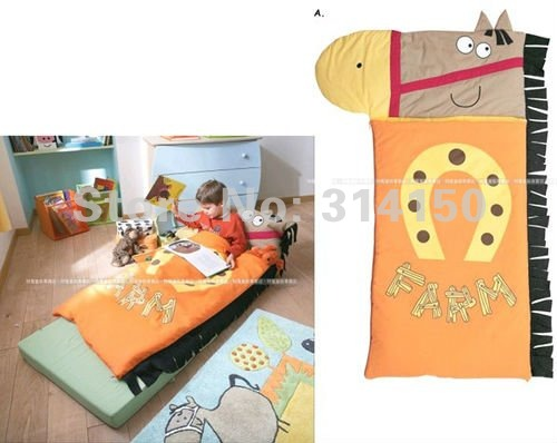 FREE SHIPPING--Baby sleeping bags lovely horse modeling Slumber bags baby clothing costume winter thick warm cotton 1pcs/lot