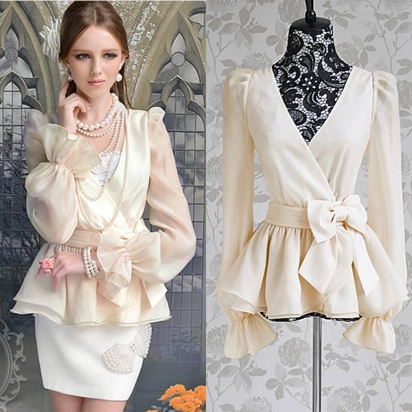 Мода Блузки 2013