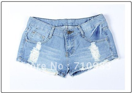 Free Shipping  blue very fashion short pants,2012 hot sale denim shorts,ladies shorts free shipping.1piece/lot