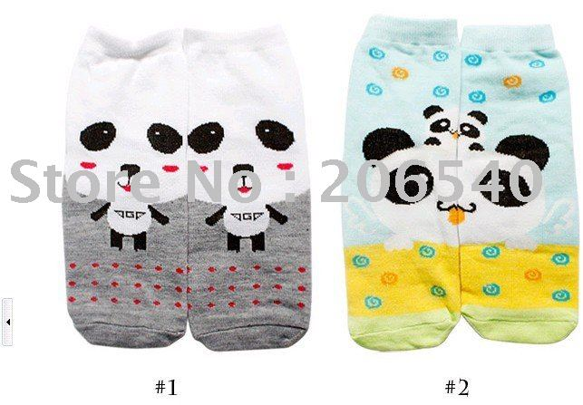 free shipping brand new 2011Fashion cute cartoon lovers AB sox over-indulgence socks