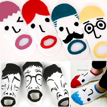Free shipping by China post-24pairs/lot,cartoon socks(color same as picture),best-selling