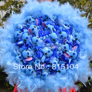 Free Shipping Cartoon bouquets wedding dried flowers birthday gift  fake bouquet W317
