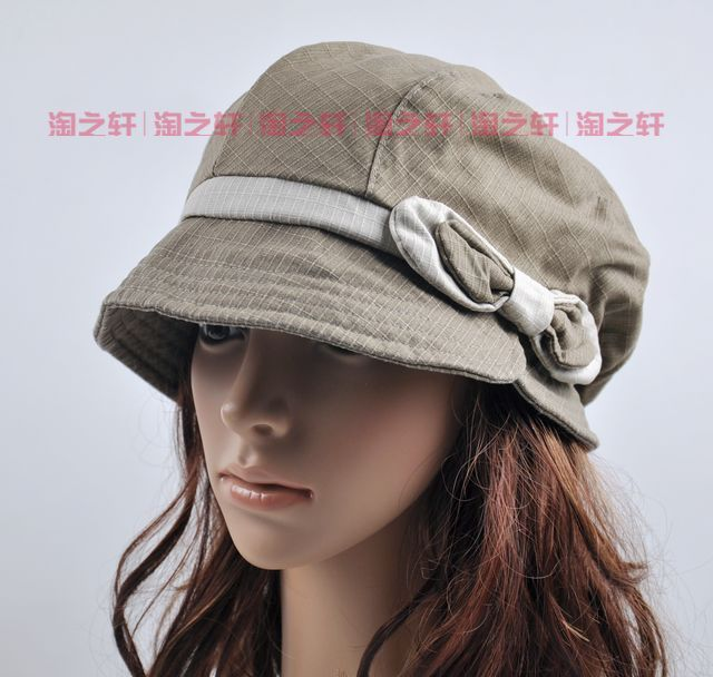 Free shipping cheap Hat female autumn and winter bucket hat spring and autumn noble millinery fashion hat