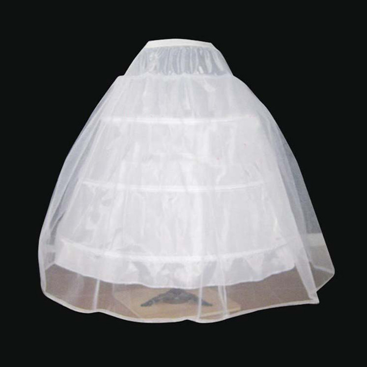 Free shipping cheap The bride married , quality wedding formal dress pannier yarn 3 wire 1 hard network