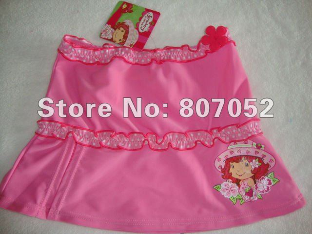 Free Shipping children/girl/kids' swimsuit/swimwear Girl's swimwear/beach wear/beach skirt/swimming wear 7pcs/lot GS107