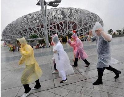 Free shipping DHL 2000pcs/lot Wholesale Disposable PE Raincoat /Poncho/Rainwear