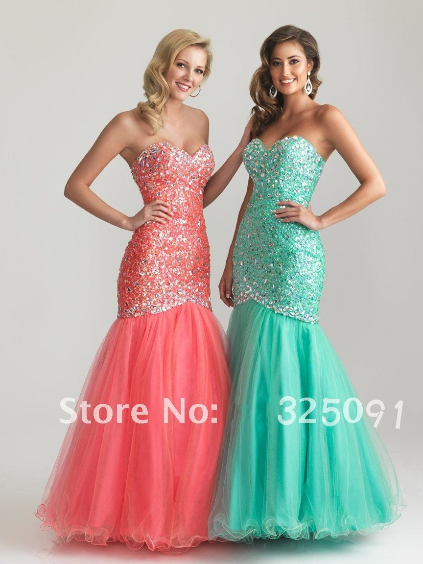 Free Shipping DHL New Arrival 2013 Mermaid Prom Dresses Sweetheart Full Beading Long Ruched Sheath Sequined Party Evening Gown