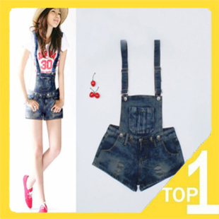 Free shipping ! Drop shipping!  Wholesales 2013 newly fashion short rompers in Korea style 9922 (1.13)