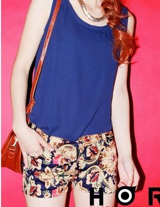 Free shipping ELAND 91a 2012 personalized fashion vintage shorts