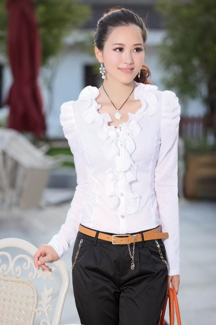 Модные Белые Блузки 2014 В Москве