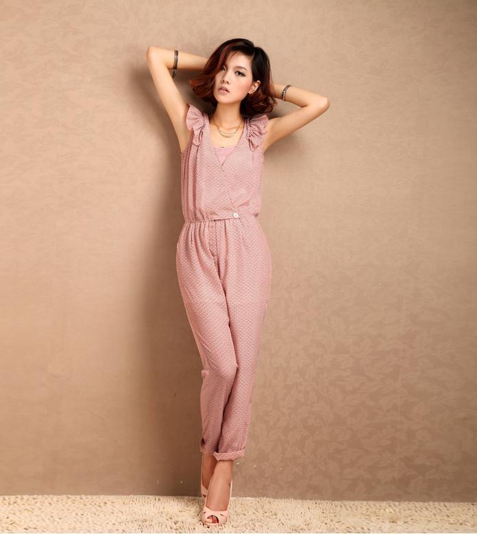 Free shipping Fashion brand women jumpsuits amazing 2013 C017