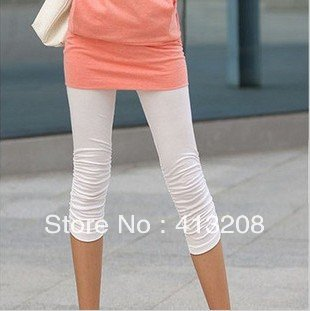 Free Shipping fashion Was-thin leggings in summer Lady three quarter in the lumbar tights jeans stockings pantyhose wholesale