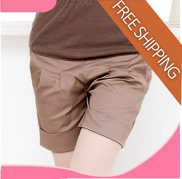 Free Shipping FC-804 Maternity clothing summer fashion summer knee-length belly pants