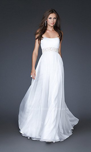 Free Shipping Flowing White Formal Dress Lf 15946 Gowns Eveningprom