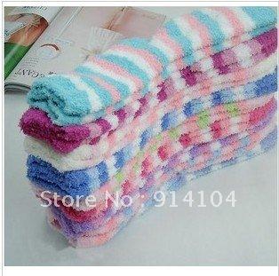 free shipping for (10pcs/lot) floor socks plush socks Christmas socks towel socks men and women