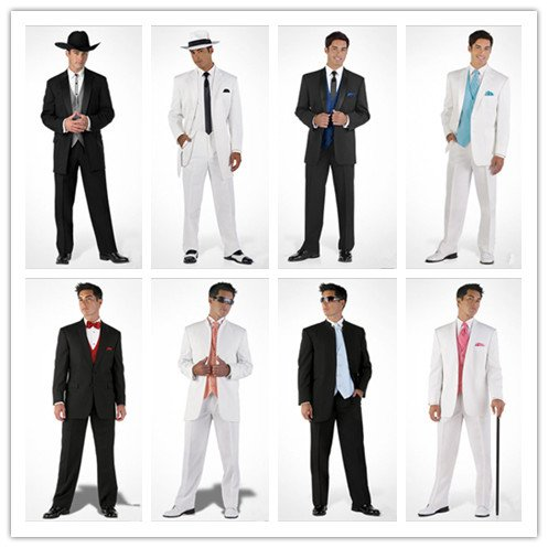 free shipping free shirt free bow free vest 8 style  grooms attires  tuxedos with Single-Breasted 2 Buttons NO.0088