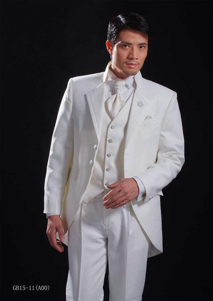 free shipping free shirt free bow Tuxedo  with Single-Breasted 2 Buttons wedding suits  NO.0121