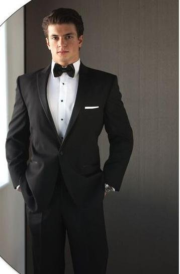 free shipping  free  vest free bow  Custom handimade mens suit wedding tuxedos with Single-Breasted 2 Button NO.0312