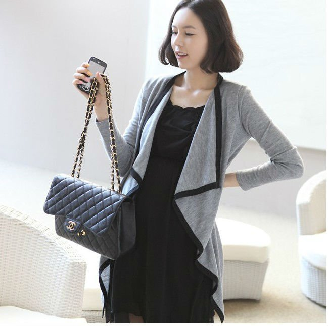 Free Shipping Gray Clothes Cappe For Pregnant Women 811