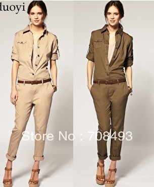 Free shipping high quality fashion chiffon Jumpsuits for women new fashion Jumpsuits fo 2013 women clothing