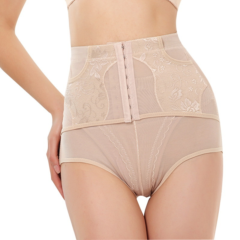Free shipping High waist slimming pants body shaping panties body shaping pants drawing abdomen pants 2 15889