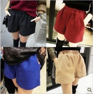 Free Shipping Hot sale ! 2013 New  All-match Elastic Woolen PantsYL16513858730