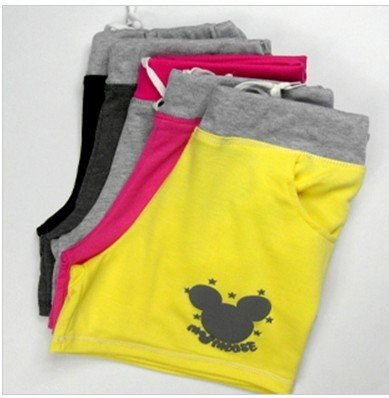 Free shipping! hot sale Cotton Blends Mickey Mouse Womens casual shorts,beach shorts,hot pants D95-529-25-242