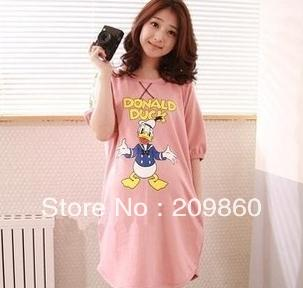 Free shipping ! hot sell Maternity summer Korean version new Donald Duck cotton pregnant women short-sleeved T-shirt
