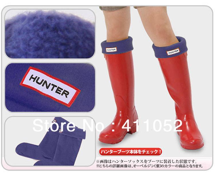Free Shipping Hunter socks liner ankle sock hunter rain boots rainboots socks