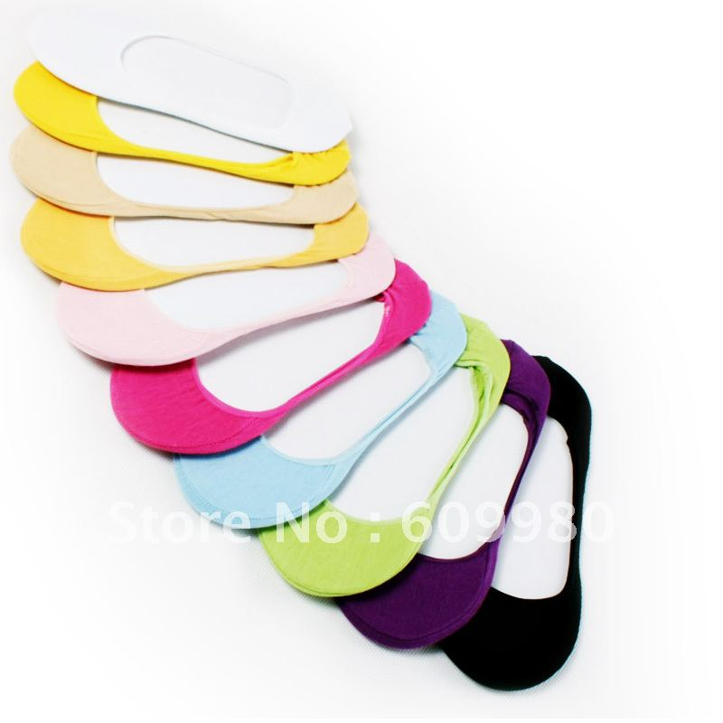 Free shipping  invisible socks female cotton sock slippers shallow mouth sock