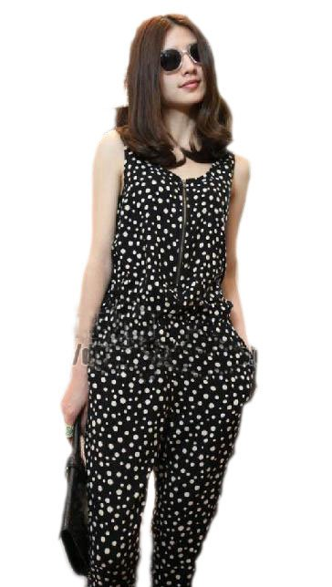 FREE SHIPPING,Jumpsuits Rompers Women Fashion Sexy Sleeveless Romper Strap Short Jumpsuit Casual Jump suit pants,Q107
