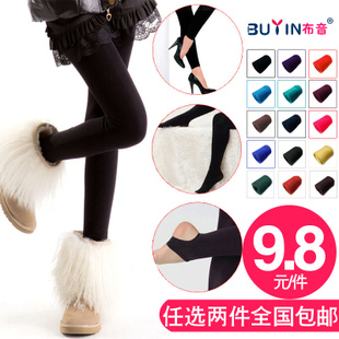 free shipping Legging new arrival female thermal thick elastic pants step stockings ankle length trousers plus size