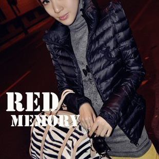 Free shipping long-sleeve wadded jacket outerwear stylish elegant short design slim cotton-padded jacket female