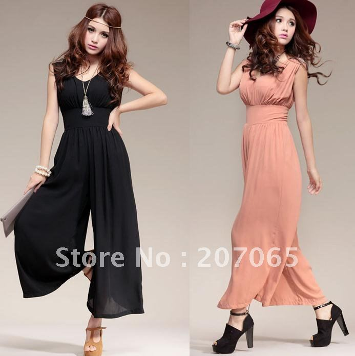 Free shipping  loose jumpsuit ,Women's jumpsuit  overall ,size M,L,XL  2 colour