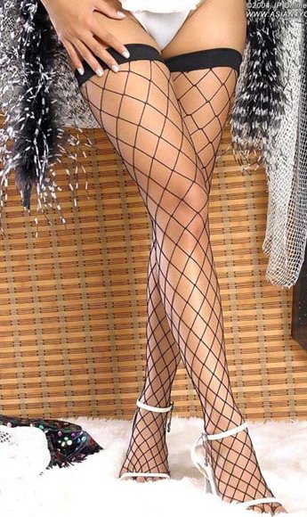 Free shipping + Lowest price New Fence Net Thigh Hi Stockings