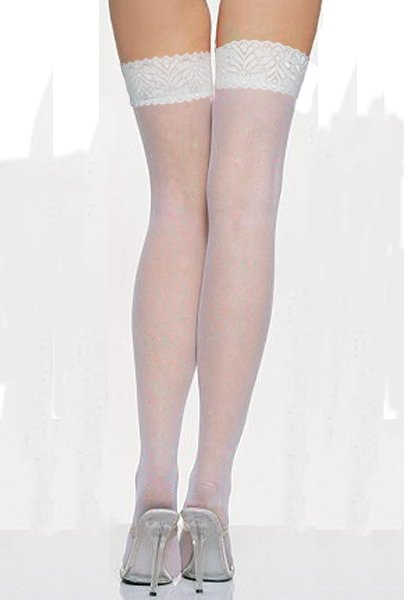 Free shipping + Lowest price New Sexy White Lace Stockings