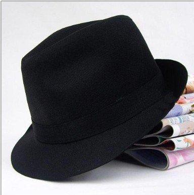 free shipping men and  women's Gentleman cap hat ,wholesale cap! high quality elegent black Restore ancient way jazz caps fedora