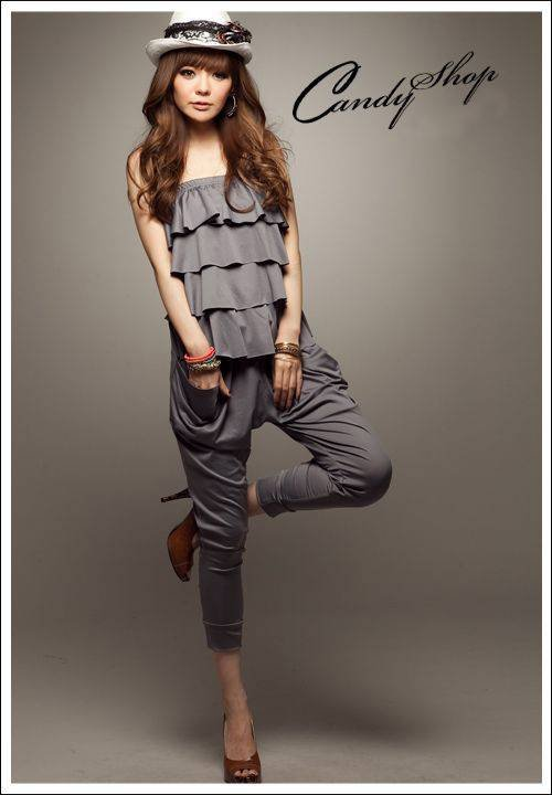 Free shipping new 2013 Best Selling,fashion women's jumpsuit sexy ladies overalls,Layers cake chest wrapped pants Jumpsuits 2