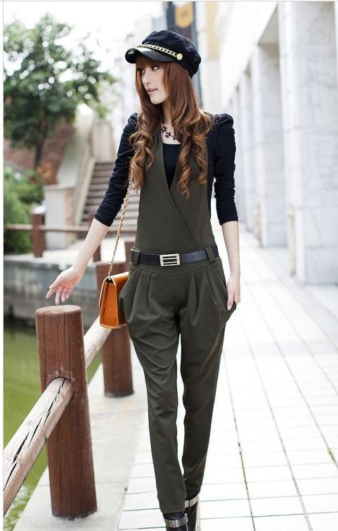 Free shipping  New Spring Haroun pants jumpsuits Rompersle 2013   Korean style C005