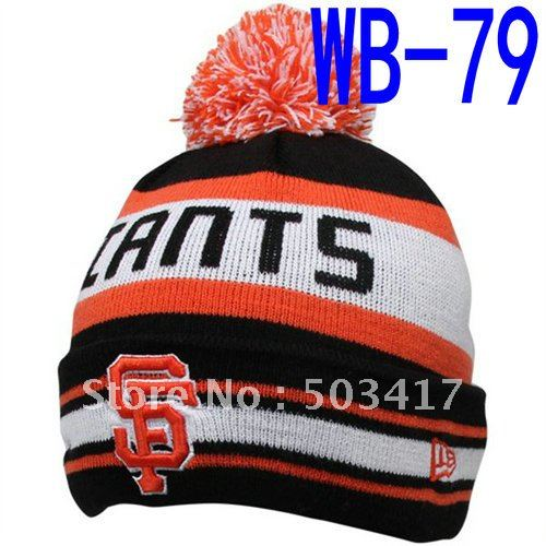 Free Shipping New style SF Giants Beanies men's and women's baseball knitted winter warm hats