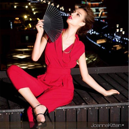 Free shipping Newest women's elegent Jumpsuits sexy taper leg pants trousers,very fashionable