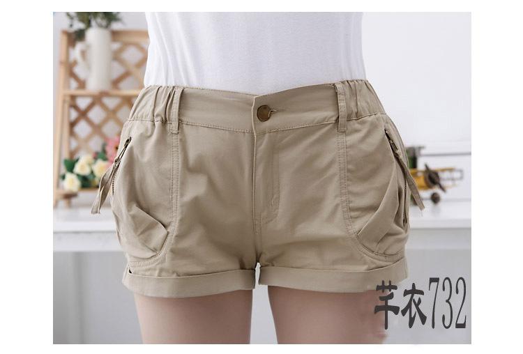 Free shipping  Plus size Causul Design  women shorts,Cotton Summer short pants  JY-732  L XL XXL XXXL