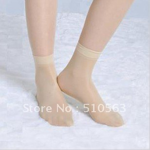 Free shipping Quality good Thin silk stockings Black, deep flesh-coloured, flesh-coloured three optional