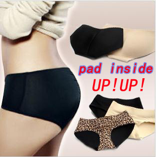 Free Shipping/ seamless Bottoms Up underwear/Body Shaper Underwear/sliming pant/bottom pad panty,buttock up panty/4 colors