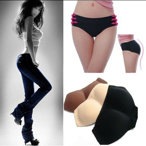 Free Shipping Sexy Butt Hip Enhancer Hot Padded Seamless Shape and Fitness Panties