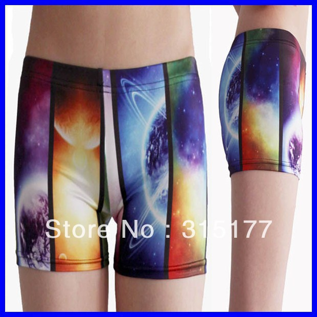 Free shipping Short Galaxy Legging wholesale 10pieces/lot Mix order Tight high Shorts 2013 Women sexy pants 79148